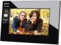 "Sony - 7"" Widescreen LCD Digital Photo Frame - Black DPFD710"