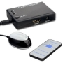 eSecure - 3 Port HDMI Full HD 1080P v1.3 Switch Switcher + Remote