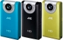 JVC PICSIO Full HD GC-FM2 Digital Pocket Camcorder with 3&quot; LCD, CMOS, 5 Megapixel Image, 2.1 Megapixel Video