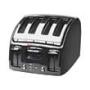 Tefal Avanti Black 4 Slice Toaster