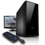 "CyberPower Desktop Gaming PC - AMD X6 1055T CPU - Six Core DDR3 PC with 22"" LCD Monitor, Keybaord & Mouse, Windows 7 Home Premium - Full System"