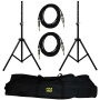 Pyle Pro-Audio Speaker Stand And Cable Kit