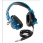 "- Califone Blueberry Stereo Headphone With Miniplug/.25"" Screw-ON Adapter"