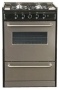 Summit 24 Gas Range - Stainless Steel