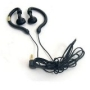 Digital Sport Secure Fit Flexible Hook Earbuds Headphones Rubberized