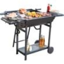 Lovo Premium Steel Charcoal BBQ with Rotisserie