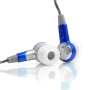 GOgroove Earbuds with Nylon Woven Cord and 3 Sets Silicon Ear Gels