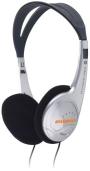 Sylvania SYL-266 Digital Headphones (Black and Silver)