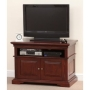 Louis Philippe Solid Mahogany TV Stand
