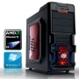 ANKERMANN PC Black EDITION OC with Windows7 Professional 64 | AMD Black Edition II X4 750K 4x3.4 GHz | 8GB RAM DDR3 PC1600 | 2,0 TB SATA3 HDD | MSI FM