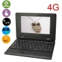 Gamsy 7 inch Mini Laptop Netbook Hard Drive 4GB, 1.5 GHz CPU, Android 4.2.1 (Latest Jelly Bean OS)-Black