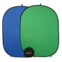 "Photogenic Chameleon Chroma Key, Reversable 57"" x 77"" Green / Blue Collapsible Disc Background, with Bag. (CH57)"