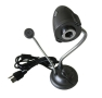 High Definition 5.0 Mega Pixels USB WebCam with Microphone & 4 LED Lights and...