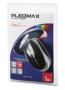 Samsung Pleomax Corded Optical Wheel Mouse - Black
