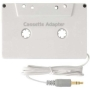 iZKA™ Cassette Adapter 'White' For All iPhone 4S, iPod, Zen, Zune, Sansa, GoGear, Amazon Kindle 3 4 & Touch, Fire, Sony eBook, Kobo Wireless & Touch,