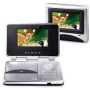 "Durabrand Portable DVD Player with Two 6.2"" Screens"