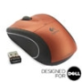 V450 NANO Cordless Laser Mouse - Tangerine Orange - Designed for Dell