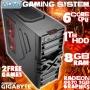 ADMI FX-6100 Gaming PC, Home PC, Desktop PC (AMD FX-6100 Six Core Bulldozer CPU, AMD Radeon 6670 2GB Graphics Card, 1TB Hard Drive, 8GB DDR3 Memory, H