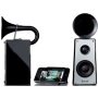 Ravon Audio Home Stereo Hornet Speaker System iPod iPhone 4 4S iPad 1 2 3 Docking Station Mini Hi-fi Dock Mac Macbook Pro Speakers