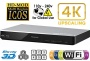 PANASONIC DMP-BDT270 2K/4K Multi Region All System Blu Ray Disc DVD Player - PAL/NTSC - 2D/3D - Wi-Fi - 100~240V 50/60Hz World-Wide Use & 6 Feet HDMI