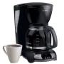 Mr. Coffee Coffee Maker with Clock - Black