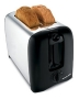 Proctor Silex 2-Slice Toaster - Black/ Chrome (22608)