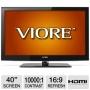 Viore LC40VF68M 40 Class LCD HDTV - 1080p, 1920 x 1080, 16:9, 8 ms, 10000:1, HDMI, VGA (Refurbished)