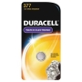 Duracell Watch And Electronic Battery 15 V Model No 377 Carded Pack of 2