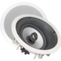 NXG 8 In. 100-Watt Home Theater 2-Way LCR In-Ceiling Speaker System with Tilt-Swivel Tweeter Island