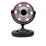 Gear Head Quick 5.0 MP WebCam HD Red
