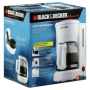 Black & Decker Smart Brew 5-cup Coffee Maker - White
