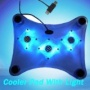 1237 BNIB TOP QUALITY 3 FAN COOLING PAD COOLER PAD STAND WITH 3 BLUE LED BACKLIGHT FOR PC LAPTOP NOTEBOOK PS2 PS3 PLAYSTATION 3 XBOX XBOX 360 XBOX360
