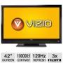 Vizio E422VL 42 Class LCD HDTV - 1080p, 120Hz, 100000:1 Dynamic, 5 ms, HDMI, USB, Wi-Fi, VIZIO Internet Apps, Energy Star (Refurbished)