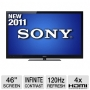 "Sony KDL46NX720 BRAVIA 46"" 3D LED Backlit HDTV - 1080p, 1920 x 1080, 16:9, MotionFlow 240Hz, HDMI, USB, WiFi Ready (Open Box)"