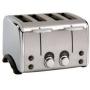 Toastmaster 4-Slice Vintage Stainless Steel Toaster