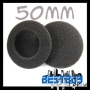 3 pairs 50mm Headphone Earphone Earbud Ear Pad earpad Foam Cover