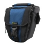 Evecase Durable Digital SLR Camera Carrying Pouch Nylon Case with Strap- Black/Blue for Sony A390, Alpha a55, A900, A200, A65, A77 A550, Olympus E-10