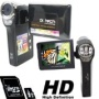 HDDV2000(w Micro 8GB Card) High Resolution Silver DIGITAL VIDEO CAMCORDER / STILL CAMERA