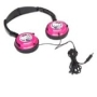 Hello Kitty Headphones (11609) - Pink/Black