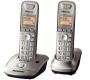 Panasonic KX-TG4012N DECT 6.0 Two-Handset Cordless Phone
