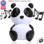 "GOgroove Panda Pal Deluxe Portable High-Powered Stereo Speaker System compatible with Childrens Learning Tablets LeapFrog LeapPad / Nabi 7"" Kids Table"