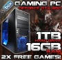 VIBOX Gamer 2 - Home, Office, Family, Top Gaming PC, Multimedia, Desktop, PC, Computer, - PLUS X2 FREE GAMES! ( New 4.2GHz AMD, FX 4170 Fast Quad Core