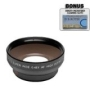 0.5x Digital Wide Angle Macro Professional Series Lens + DB ROTH Micro Fiber Cloth For The Pentax K2000 K200D K20D K10D K100D K100D SUPER K110D *ist D
