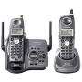 Panasonic Refurb KXTG5632BP 5.8GHz Cordless Phone,2 Handset,Expandable 1x4,Digital Answering Device