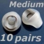 Medium earbud tip for Bose in ear headphones earphone