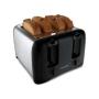 Proctor Silex 24608 Blk/chr 4 Slice Toaster