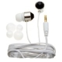 Nemo Digital NF35437-CBK Crystal Stud Earbud (White with White Wires)
