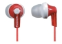 Panasonic - RP-HJE120E - Ecouteurs intra auriculaires - Rouge