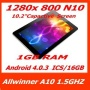 "10.1"" Sanei N10 IPS Kapazitive Tablet PC Andriod 4.0 1GB 16GB 1.5Ghz WIFI HDMI"