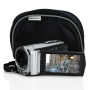 Sony Handycam Touchscreen 16GB Flash Memory Camcorder with Case and Software